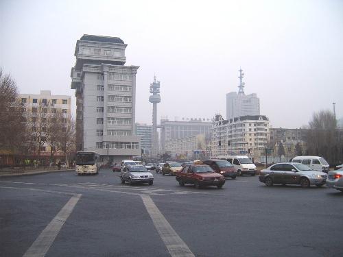 分享到:              哈尔滨市海城街,文明街,革新街路口