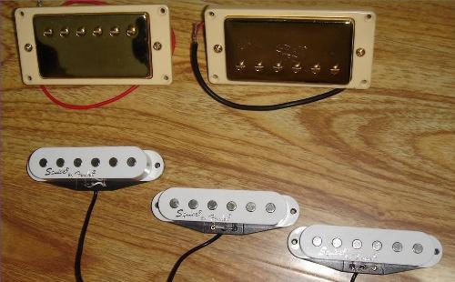 st电吉他拾音器电路图
