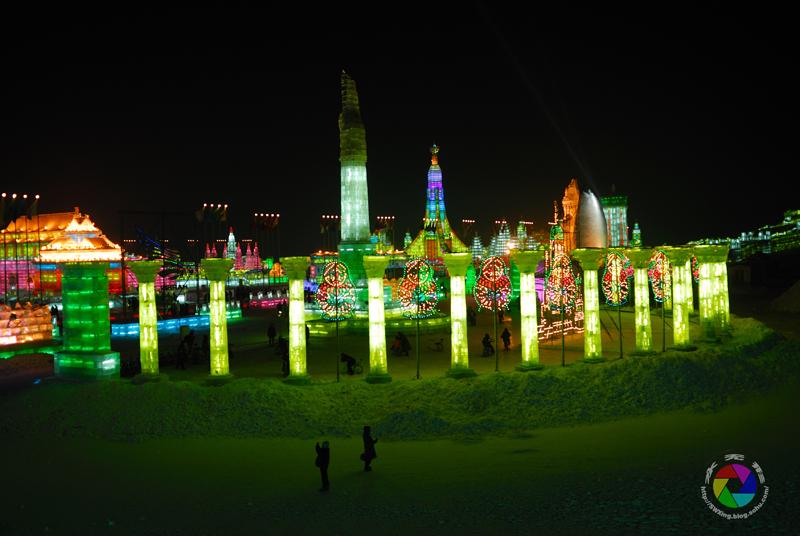 哈尔滨著名的防洪纪念塔