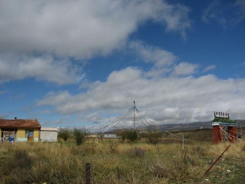 """马的中心产地,欧拉羊、阿万仓牦牛和""""河曲藏獒""""的唯一故里.高清图片"""