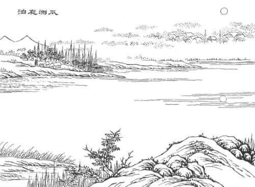 张祜描写月亮的诗句