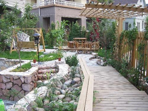 庭院设计实景欣赏-小庭院设计-搜狐博客