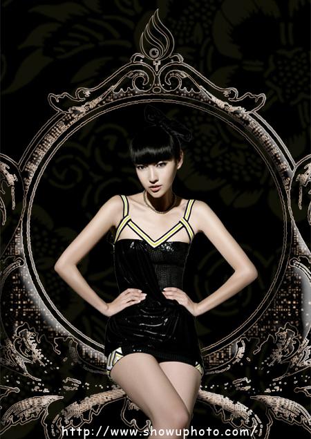 中国十佳职业时装模特