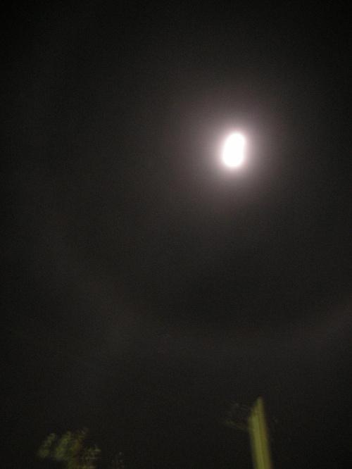生日夜晚的月亮