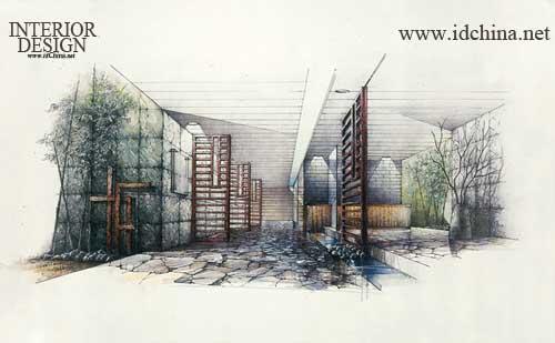 第二届中国室内设计手绘表现图大赛作品展-好设之徒
