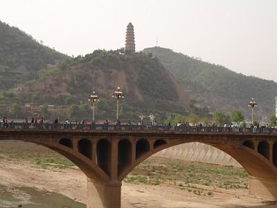 陕北延安宝塔图片