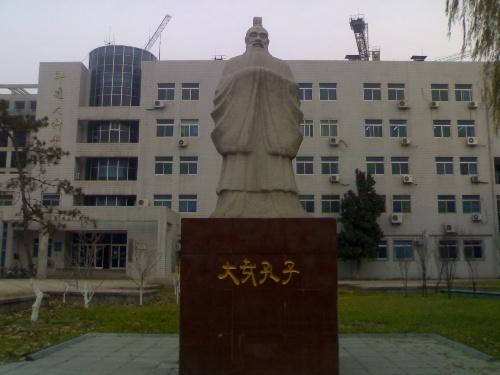 山东大学手绘校门