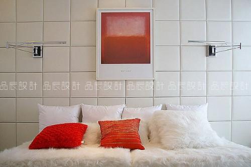 四居室 120平米 卧室装修效果图 重庆品辰设计经典室内经典