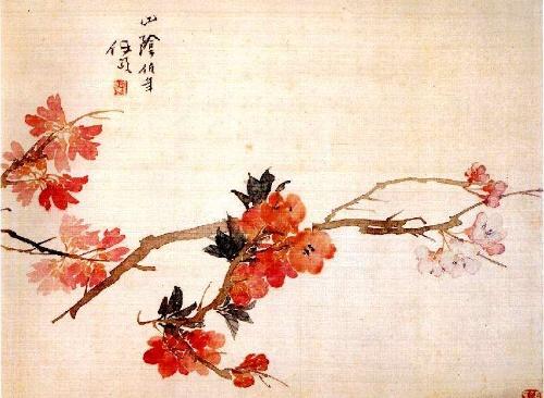 清代古代花鸟画赏析