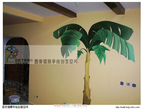 西安德腾手绘墙创意工作室