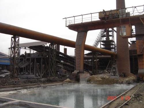 土法高炉结构图