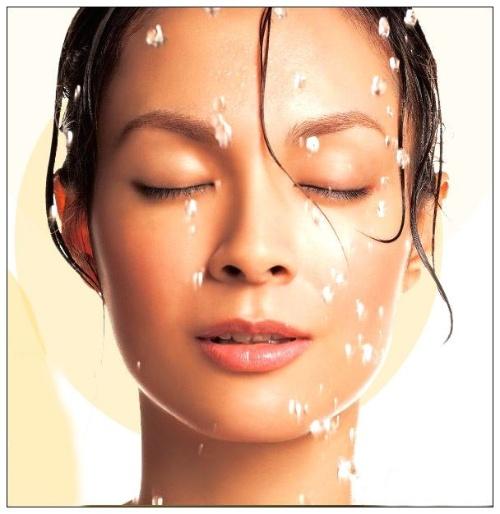 美容洗脸广告海报