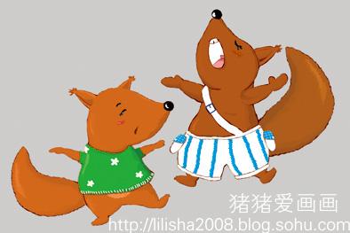 给丽丽的小松鼠-猪猪爱画画-搜狐博客