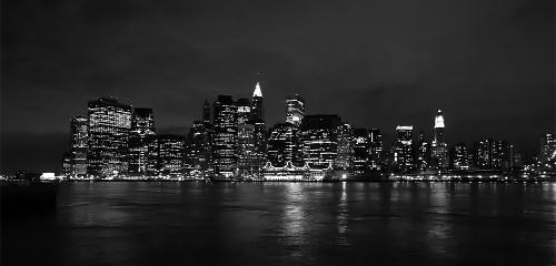 没有了世贸双塔的曼哈顿