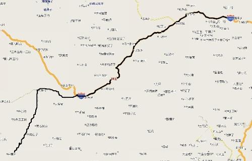 米亚罗旅游线路图