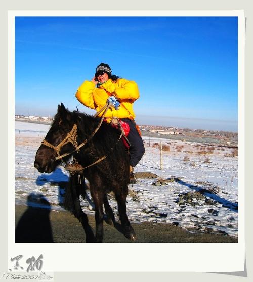 马与人-人与马