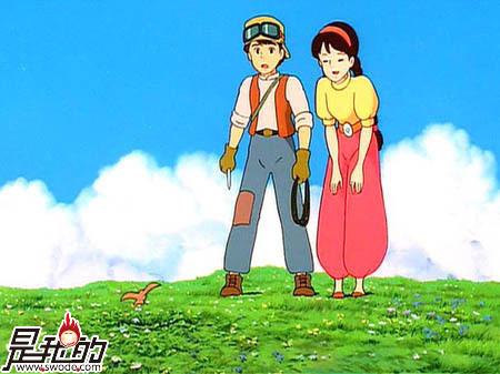 宫崎骏动漫天空之城曲 与你同在 简谱