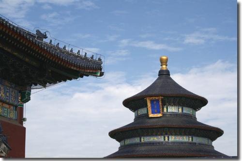 殿檐斗拱结构分解图