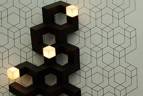 六边形拼接图案