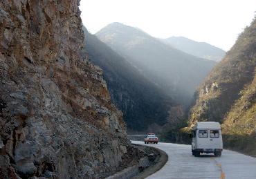 洛宁县公路风景