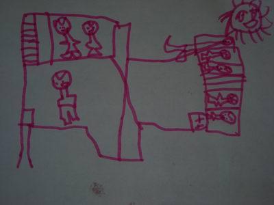 这是高高兴兴上幼儿园的作品