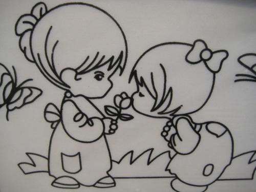 兒童畫 簡筆畫 手繪 線稿 500_375