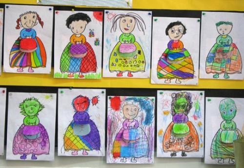 我们眼中的妈妈:三八妇女节幼儿园主题活动全记录