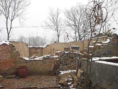 农村锅台火炕砖砌结构图片