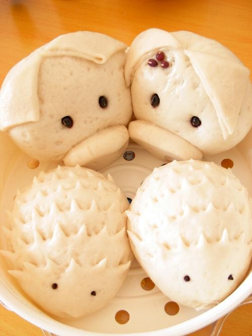 红豆包——可爱的小动物造型