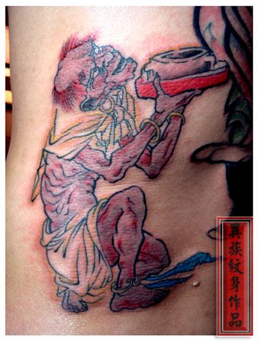 【异族纹身艺术】