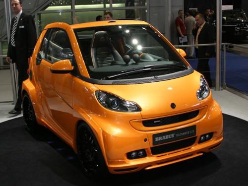 奔驰smart改装车 高清图片