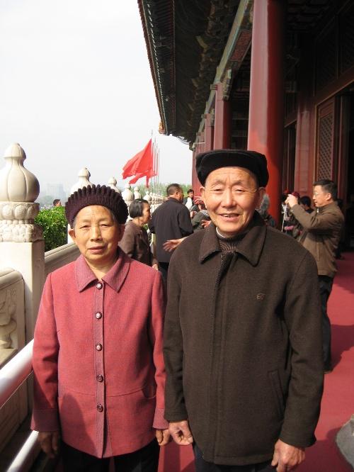 铿锵六人行——我陪父母游北京之一-冷酷的微笑-搜狐