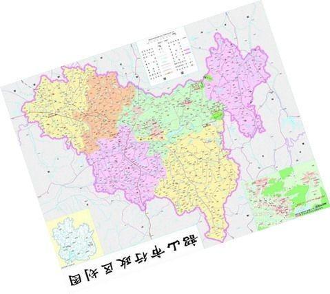 中国地图暗藏的天机