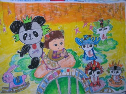 三年级奥运儿童画-乒乓球飞起来-搜狐