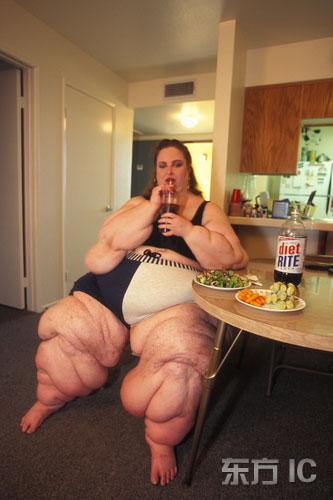 胖美女真实生活照片