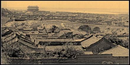 正在建设中的老潼关古城,三省交汇处靓丽古镇 [一点资讯]