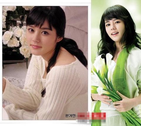 22位韩国美女明星的日常生活照(组图)