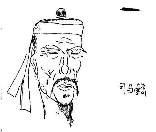 塞林格格手绘三国演义人物造像