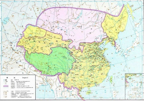 中国历代地图 秦汉 转载