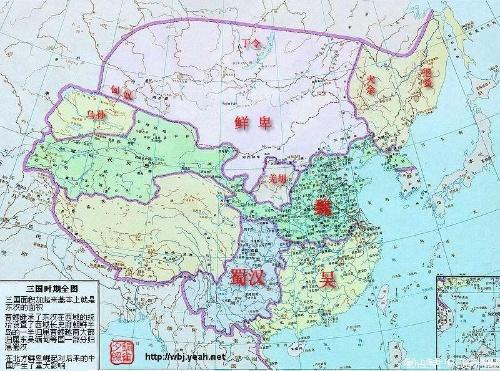 [转载]中国历代地图(秦汉)(转载)