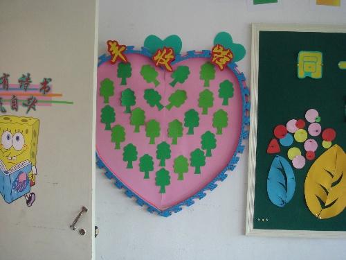 幼儿园红花栏设计图 幼儿园区间角设计图 幼儿园表扬栏设